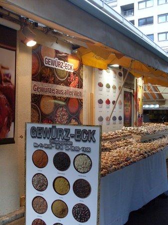 Vienna Naschmarkt : Gewürz-Eck
