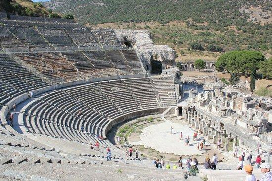 Vieille ville d'Éphèse : Амфитеатр