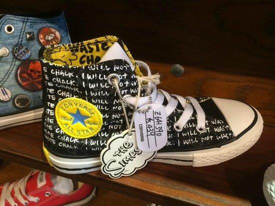 Hong Kong Sneakers Street: Bart Simpson