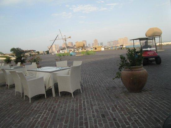 Katara Cultural Village: Restaurant on the Coast