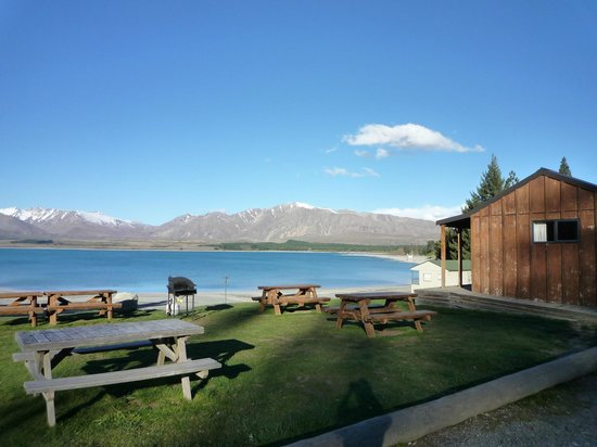 Lake Tekapo Motels & Holiday Park: 周囲