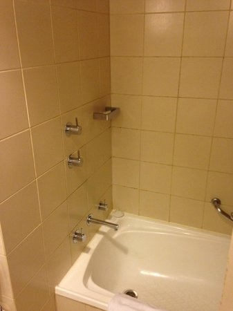 Crowne Plaza Melbourne: shower