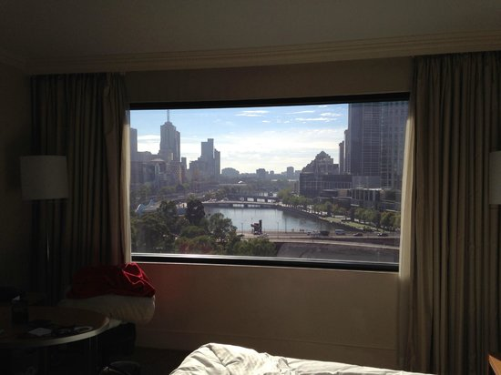 Crowne Plaza Melbourne: amazing view