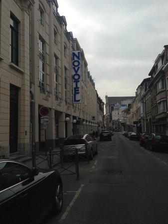 Novotel Lille Centre Grand Place: vue rue
