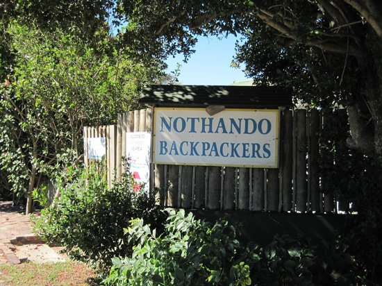 Nothando Backpackers Lodge: Eingang