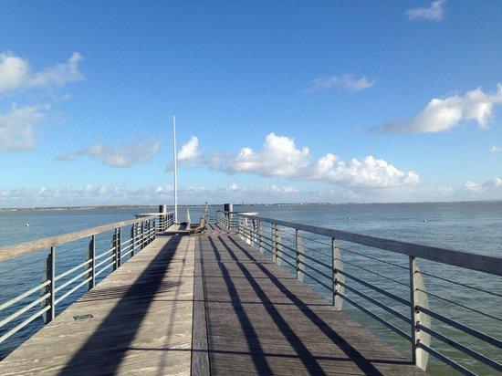 CNCO Ecole de voile : Une des plus belles vues de Saint Trojan même sans les bateaux ��