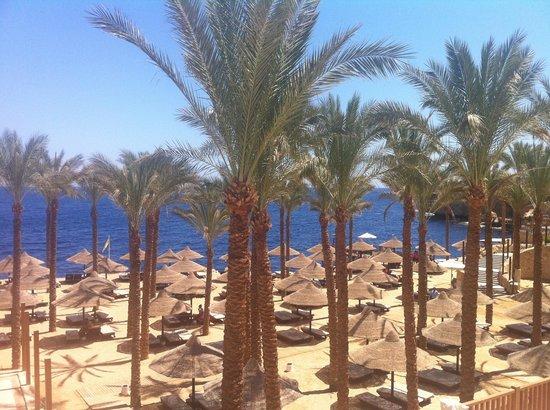 The Grand Hotel Sharm El Sheikh: Private beach