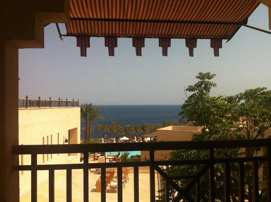 The Grand Hotel Sharm El Sheikh: View from balcony