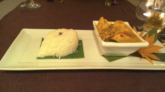 Bussaba Thai Restaurant: タイカレー