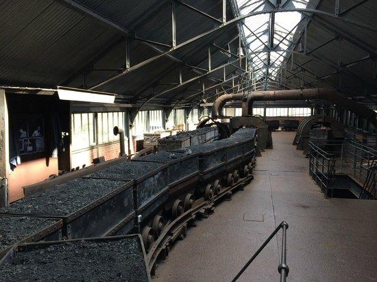 Centre historique minier - Musee de la Mine : Salle de triage