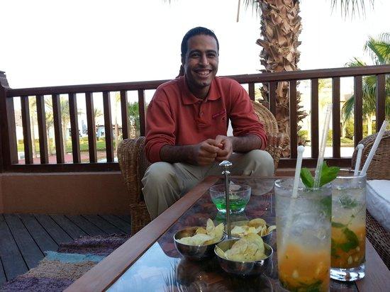 Port Ghalib Resort: nice cocktail drinking