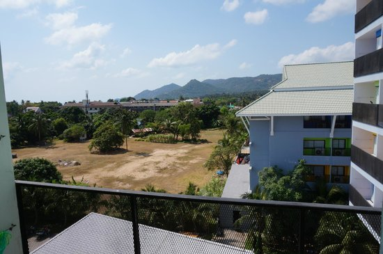 Samui Verticolor : View from our room