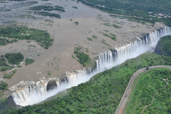 Shearwater Victoria Falls - Helicopter Flights : водопад виктория