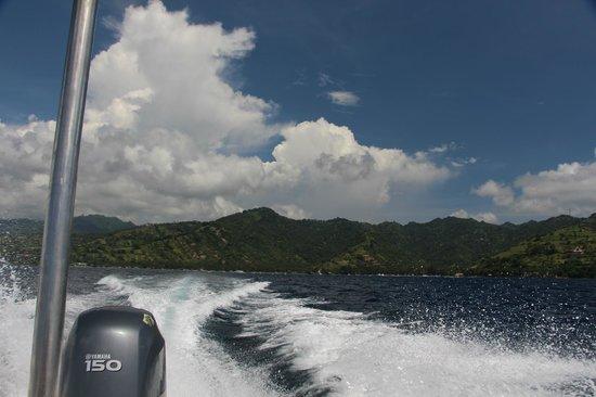 Kelapa Luxury Villas : Speedboat from Lombok to Trawangan