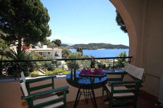 Anastasia Villa Studios Balcony With Sea View