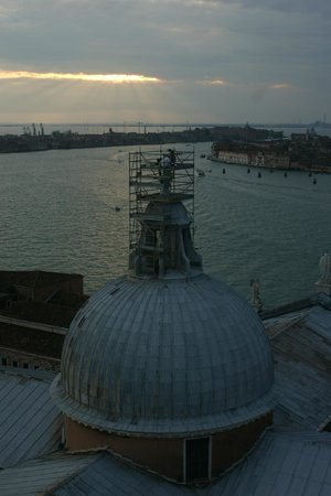San Giorgio Maggiore: Вид на канал Джудекка