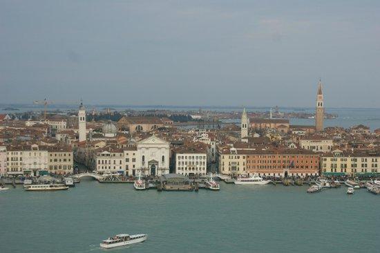 San Giorgio Maggiore: Вид на район Кастелло