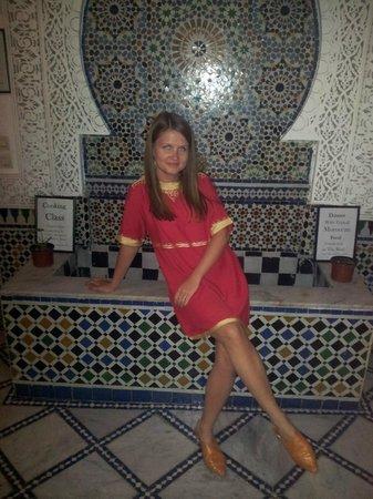 Dar el Yasmine : fountain
