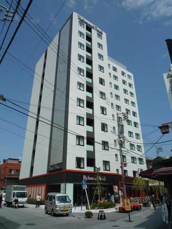 Richmond Hotel Asakusa: Front view