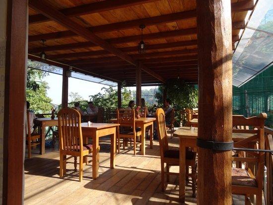 Hotel Mango Garden : terrace