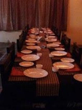 Sanskriti Restaurant: Private and seperate set up for birthday party