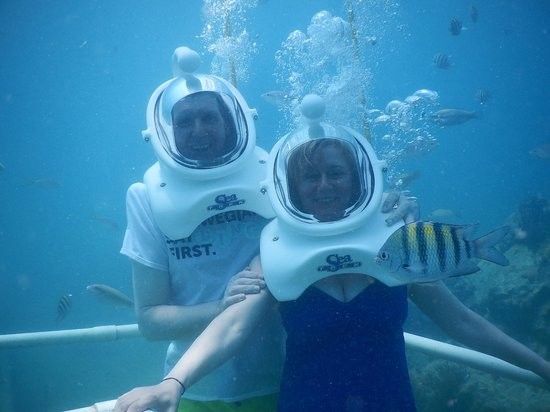 Sea Trek St. Maarten: Alistair and Marie