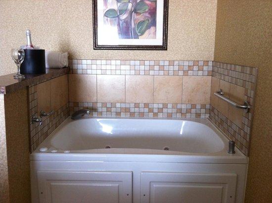 Hampton Inn & Suites Toledo-Perrysburg: Whirlpool Suite