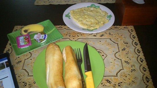 Bun Kao Guesthouse: Desayuno