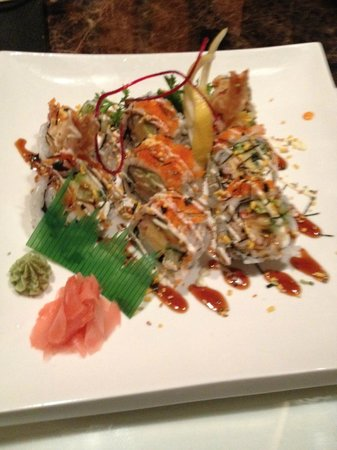 Hawaiian roll picture of izakaya shogun japanese sushi for Aloha asian cuisine sushi