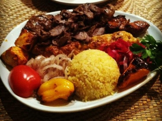 Tuckerbox: The Mixed Grill Kebab Platter - Plenty for 2 to share!