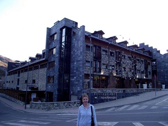 Hotel Aneto : vista fachada