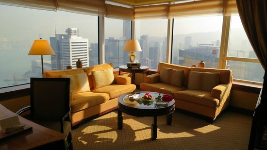 Conrad Hong Kong: Harbour Suite Lounge