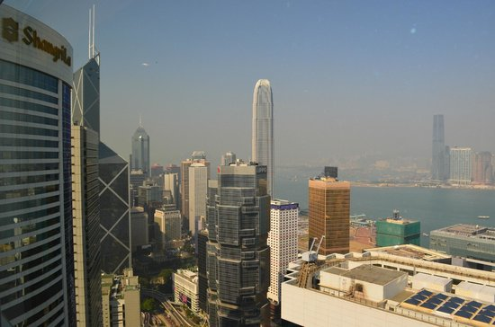 Conrad Hong Kong: View from Harbour suite