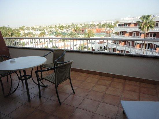 Sol Barbacan Hotel : Terraza con vistas