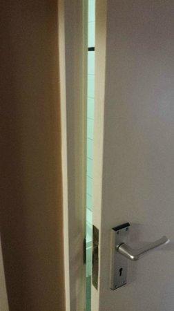 The Star Inn: shower door