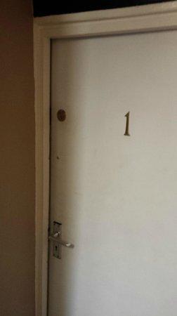The Star Inn: room door