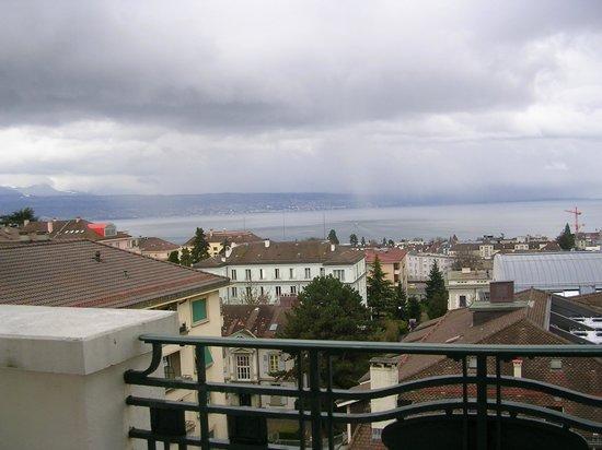 BEST WESTERN PLUS Hotel Mirabeau: View from Blacony