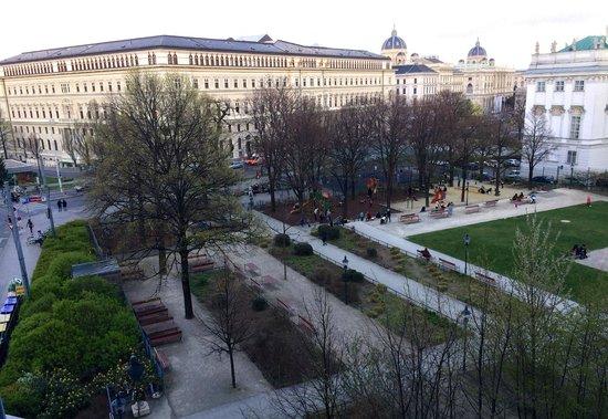 25hours Hotel beim MuseumsQuartier: Vista desde la habitación