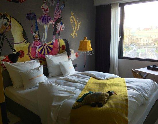 25hours Hotel beim MuseumsQuartier: Decoración con motivos circenses
