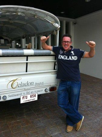 The Celadon bangkok: Tuk Tuk Service