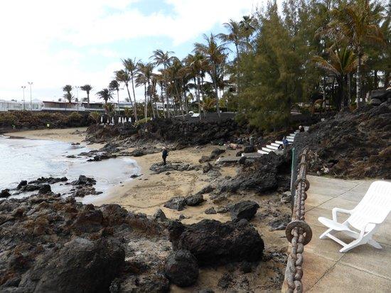 Los Fariones Hotel : beach