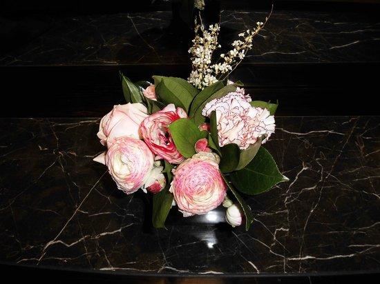 Lotte Hotel Seoul: 部屋の迎え花