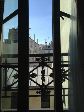 Maison Athenee: View from room