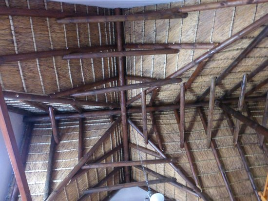 7 Church Street Guest House : View of your thatched roof