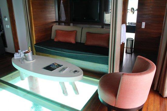 Le Meridien Bora Bora: Our room