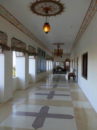 Castle Bijaipur : 2nd block verandah