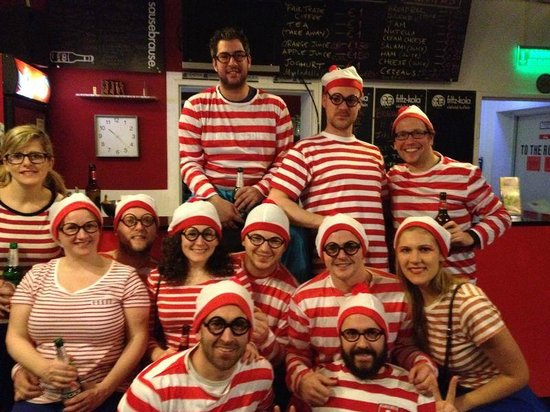 Station Hostel for Backpackers: Where's Wally