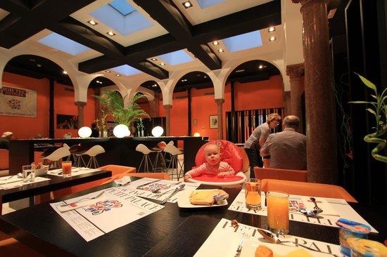 Petit Palace Plaza Malaga : Restaurant