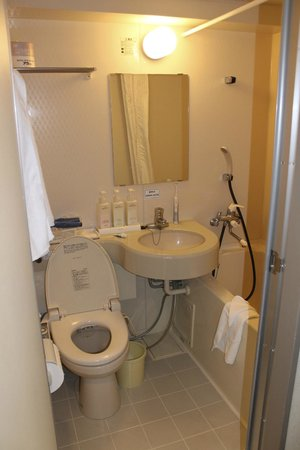 Shinjuku New City Hotel: Clean bathroom