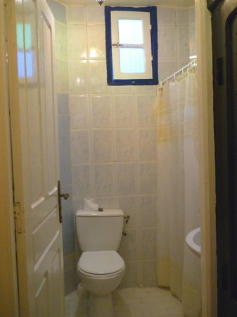 Hotel Cap Sim: Bathroom in my room